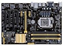 Freies verschiffen ursprüngliche motherboard für B85-A DDR3 LGA 1150 für i3 i5 i7 CPU 32 GB DVI VGA B85 Desktop mother