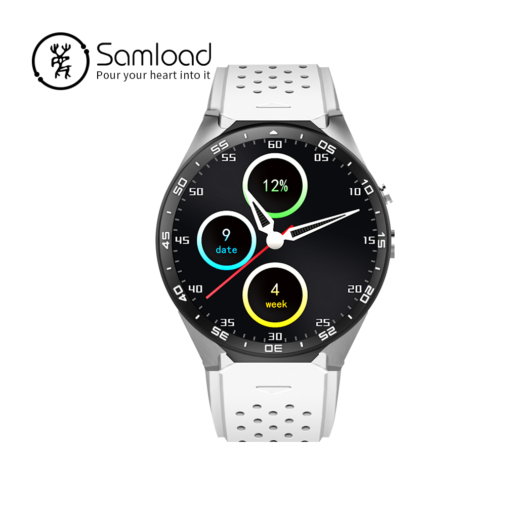 Samload Kw88 android 5.1 OS Smart watch electronics android 1.39 inch mtk6580 SmartWatch phone support 3G wifi nano SIM WCDMA ot03 best kw88 android 5 1 os smart watch 1 39 inch scrren mtk6580 smartwatch phone support bluetooth 3g wifi nano sim wcdma