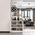 Современный минималистский Многофункциональный один шкаф витрина отель Гостиная коммерческая мебель бар винный шкаф украшения