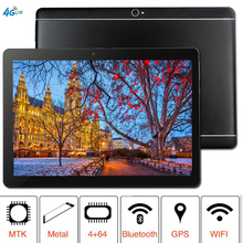 2019 10.1 inch Tablet MTK8752 Octa Core 4GB RAM 64GB ROM Dual SIM 8.0MP GPS Android 8.1 1280*800 IPS the tablet 10 1 inch ips octa core tablet ram 4gb rom 64gb keyboard 5 0mp 3g android7 0 gps mtk8752 dual sim card phone call tablets pc