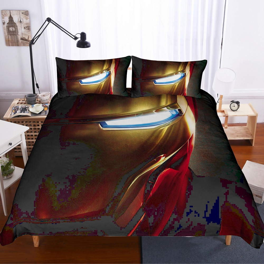 Spider-man Classic Cotton Bed Linens Duvet Cover Comforter Bedding Sets
