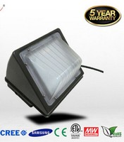 DLC ETL Outdoor LED Wall Pack Light LED Wall Light 100LM W Wall Lamp IP65 24W