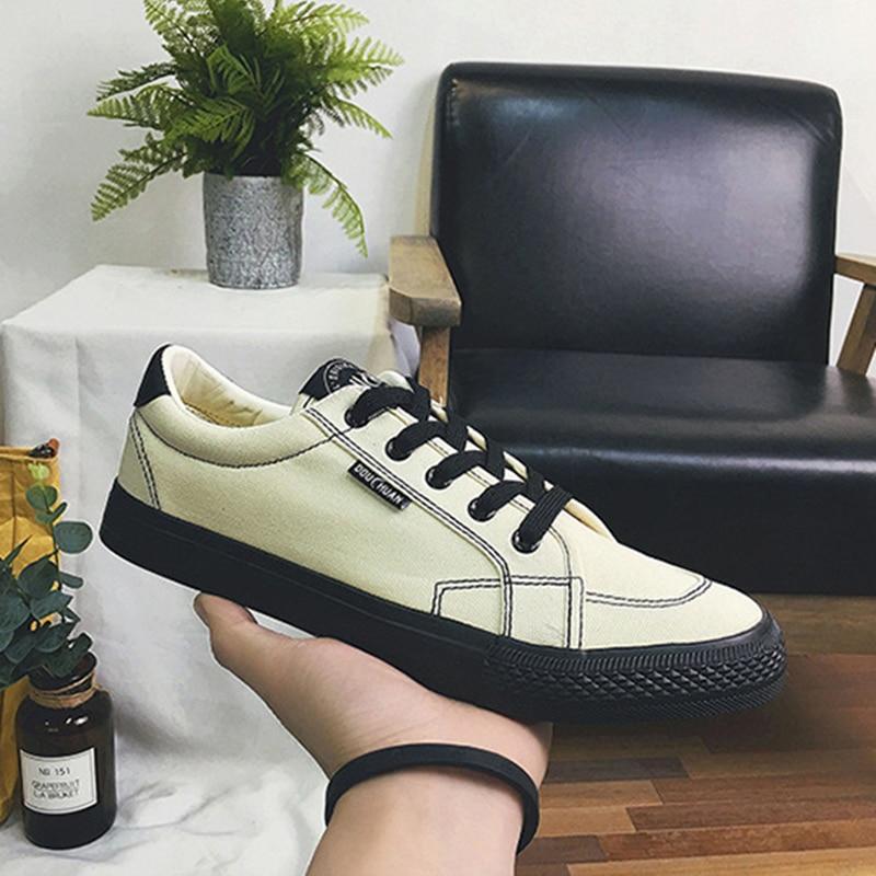 2018 Fashion Casual Shoes meestele Tennis Cavas kingad Flat - Meeste jalatsid - Foto 5