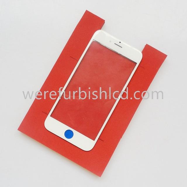 Для iphone 6 plus 6 S plus стекла с рамкой оса Ламинатор машина силикагеля уровень мягкий силиконовый коврик клей прокладка мат