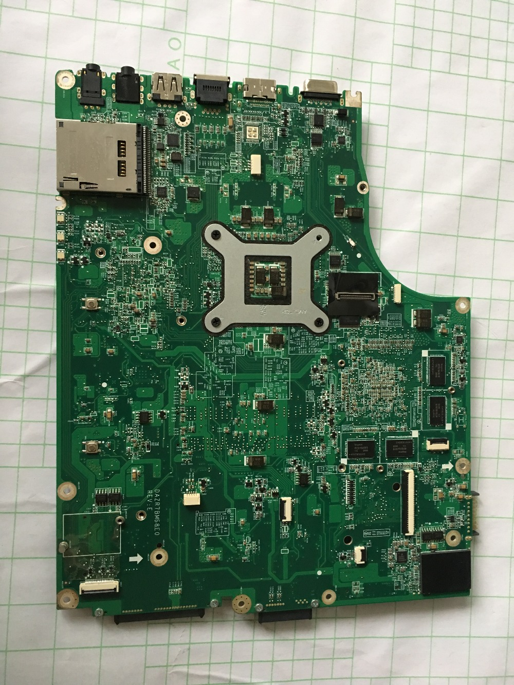 Купить с кэшбэком Original For Acer ASPIRE 5820T laptop motherboard MBRAF06002 DAZR7BMB8E0  100% Perfect work