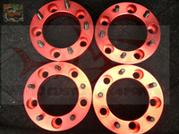High Strength RED Aviation Aluminum 6061 Car Styling Wheel Spacers Flanges For Suzuki Jimny