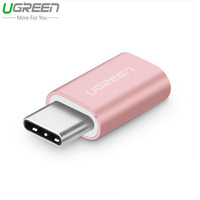 Ugreen Oneplus 3 Metal Micro USB Type C Adapter For Xiaomi 5 USB C Adapter For