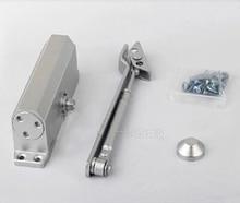 Casting Adjustable Aluminum Automatic Arm Door Closer Mechanical Speed Control Heavy Duty Gate door width 1100-1500mm 65-85KGS
