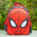New 2016 Cool 3D Spiderman School Bags For Girls Boys Schoolbag 13 Inch Children Backpacks Kids Kindergarten Bag Mochila Escolar