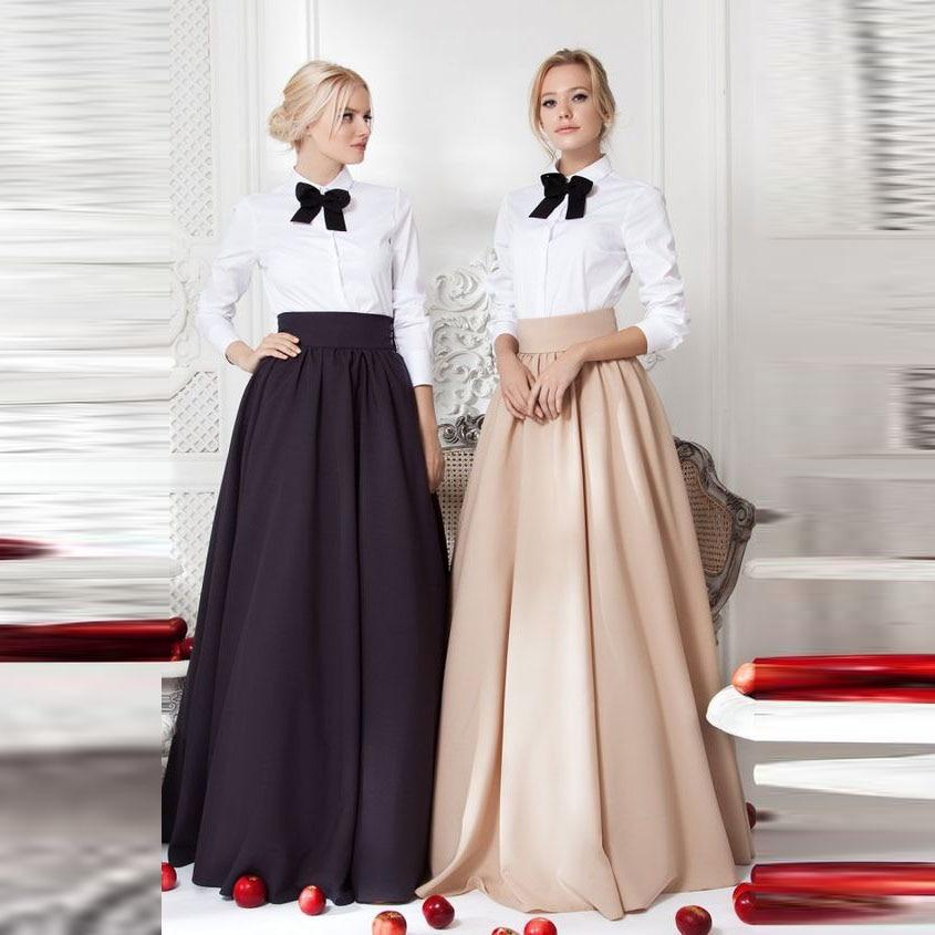 Custom Made Good Quality Women Skirt Empire Waistline A