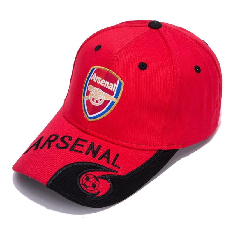 World Soccer/Football Team Hat Collection Embroidered Adjustable   Baseball     Cap  (Arsenal F.C)