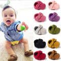 Cute Butterfly-knot Tassels Baby Moccasin Quality Infant Babies First Walkers Newborn Footwears Indoor Boots