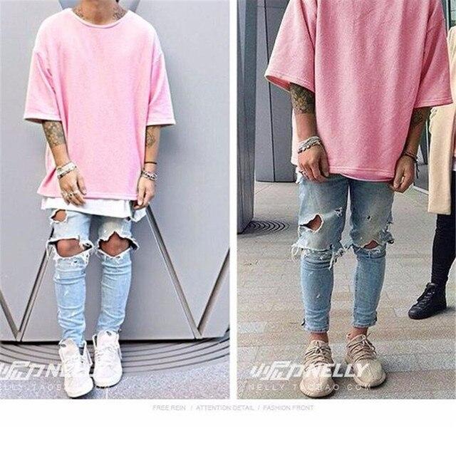 Mens T Shirt Street Fashion