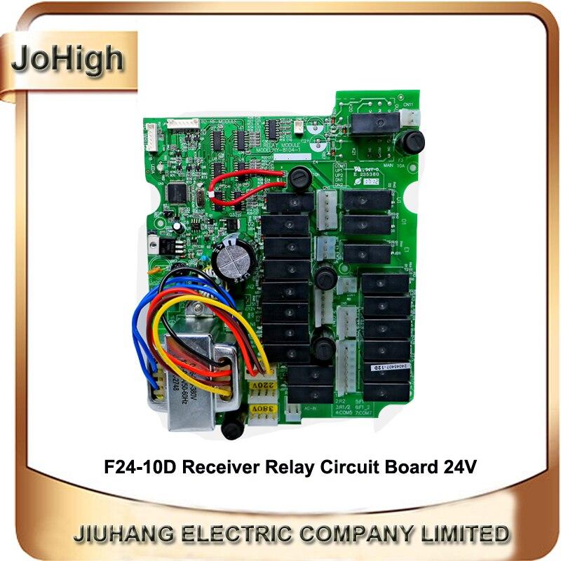 Johigh Provide TELECRANE Industrial Crane Remote Circuit Board F24-10D receiver circuit board relay circuit boardJohigh Provide TELECRANE Industrial Crane Remote Circuit Board F24-10D receiver circuit board relay circuit board