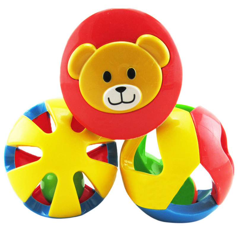 2018 Time-limited Top Fashion Animal Newborn Baby Toy Rattles Kids Suite 0-1 Years Early Bell Rattle Tinkerbell Puzzle P5