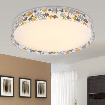Modern LED ceiling light wedding room led round acrylic ultra-thin living room bedroom restaurant home decoration  ZA913437