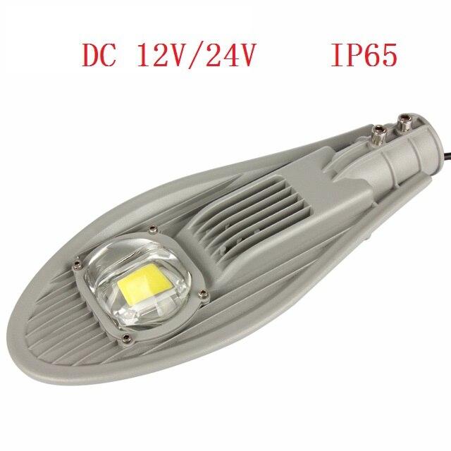 LED Street Light 30W With 45mil Bridgelux for Road Highway Garden Park lights DC12V/24V Streetlight Outdoor Lighting