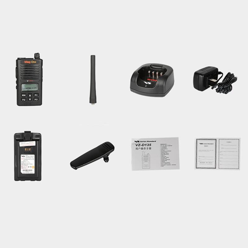 Купить с кэшбэком Motorola Vertex Standard VZ-D135 Walkie Talkie 128 channel Two WayRadio UHF Frequency Portable Ham Radio HF Transceive