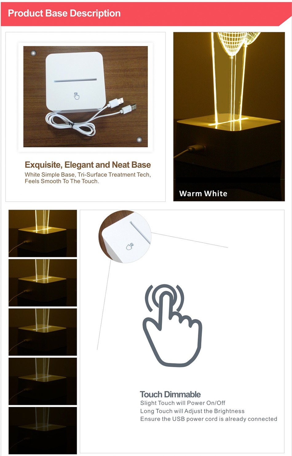 CNHIDEE Novel Fantasia Infantil 3d Balloon Table Light for Bedroom Living Room Decoration Besides Lampara Led Night Lights  (7)