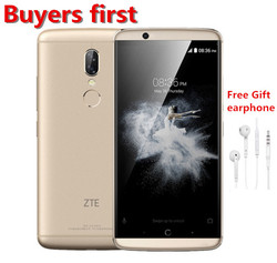 original ZTE AXON 7S 20.0MP Mobile phone Snapdragon 821 Quad-core 4GB RAM 128GB 5.5