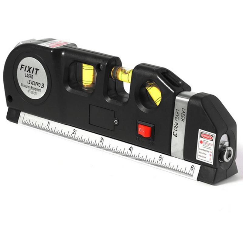 Lower Level Multi Purpose: Multi Purpose Laser Rulers Guide Leveler Straight Project