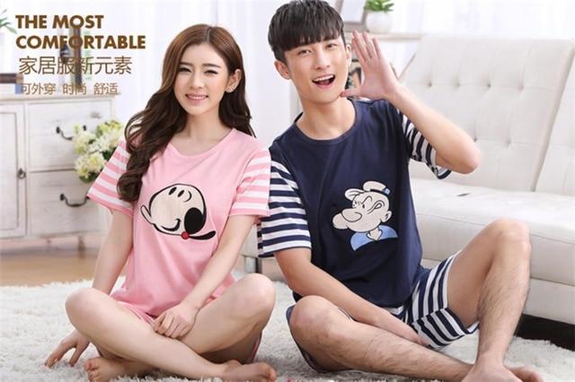 Men Cotton Pajamas Set Tshirts Underwear Brand Superdody Sleepwear Men Undershirts Tees Casual Short Sleeve Boxer Trunks O neck