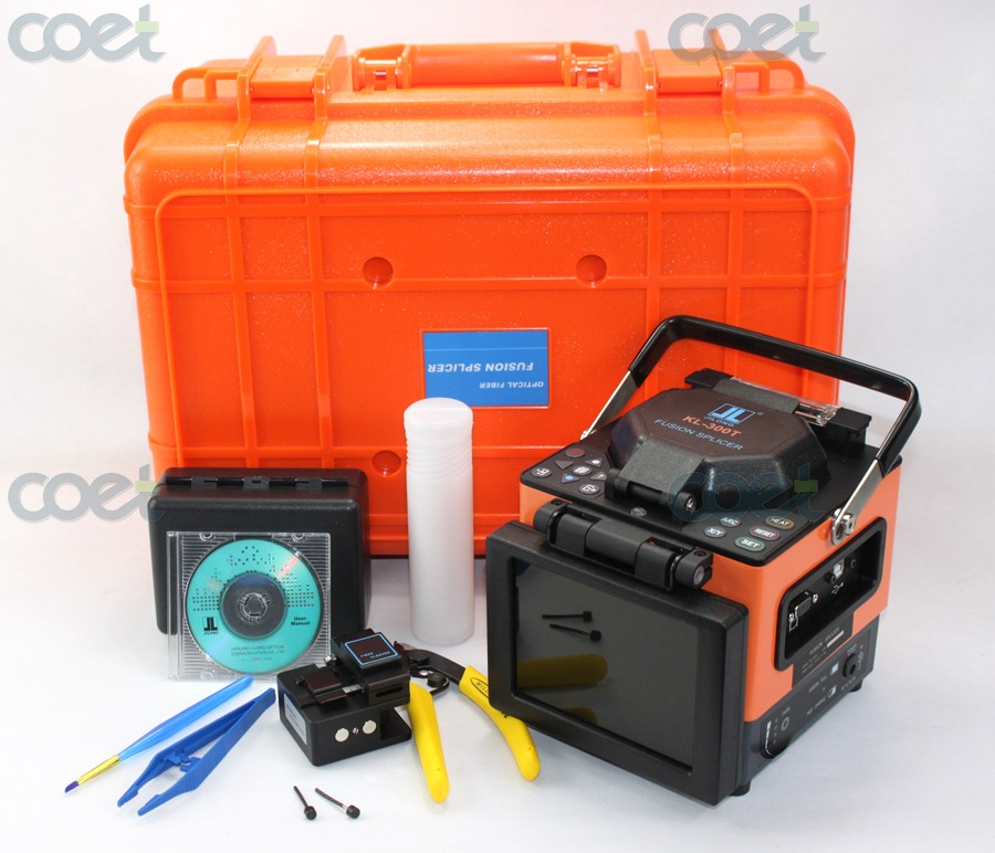 Free Shipping! Original JILONG KL-300T Optical Fiber Fusion Splicer Kit w/ Fiber Cleaver, 0.02dB Splicing lossFree Shipping! Original JILONG KL-300T Optical Fiber Fusion Splicer Kit w/ Fiber Cleaver, 0.02dB Splicing loss