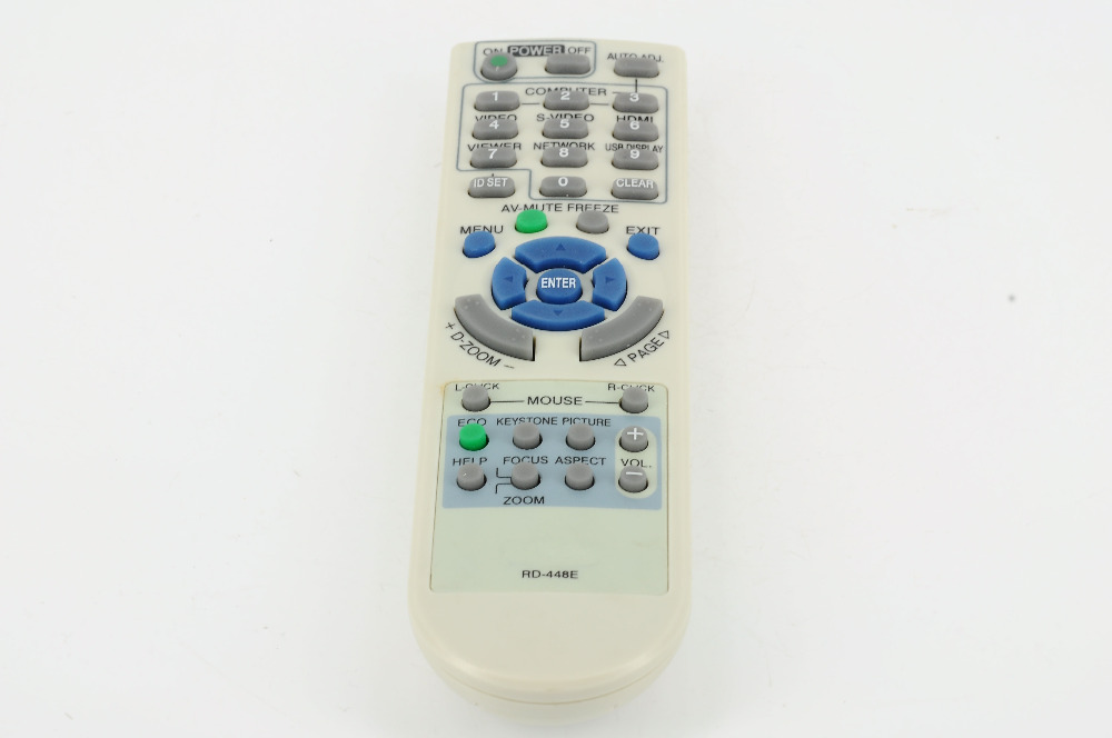Replacement NEC Projector Remote Control RD-448E for  VT375 VT380 VT470 VT480 VT490 VT491 VT495 VT570 VT575 VT580 VT590 проектор nec projector me401x me401x