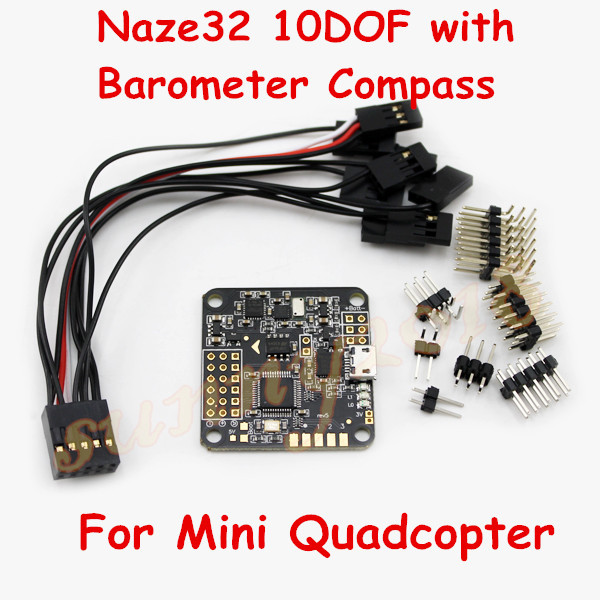 Naze32 Flight Controller Nazer 32 10dof With Barometer Pass For Mini Quadcopter Qav250 Zmr250 280 300 Ectin Parts Accessories From Toys Hobbies On: Naze32 Wiring Diagram For Quadcopter At Goccuoi.net