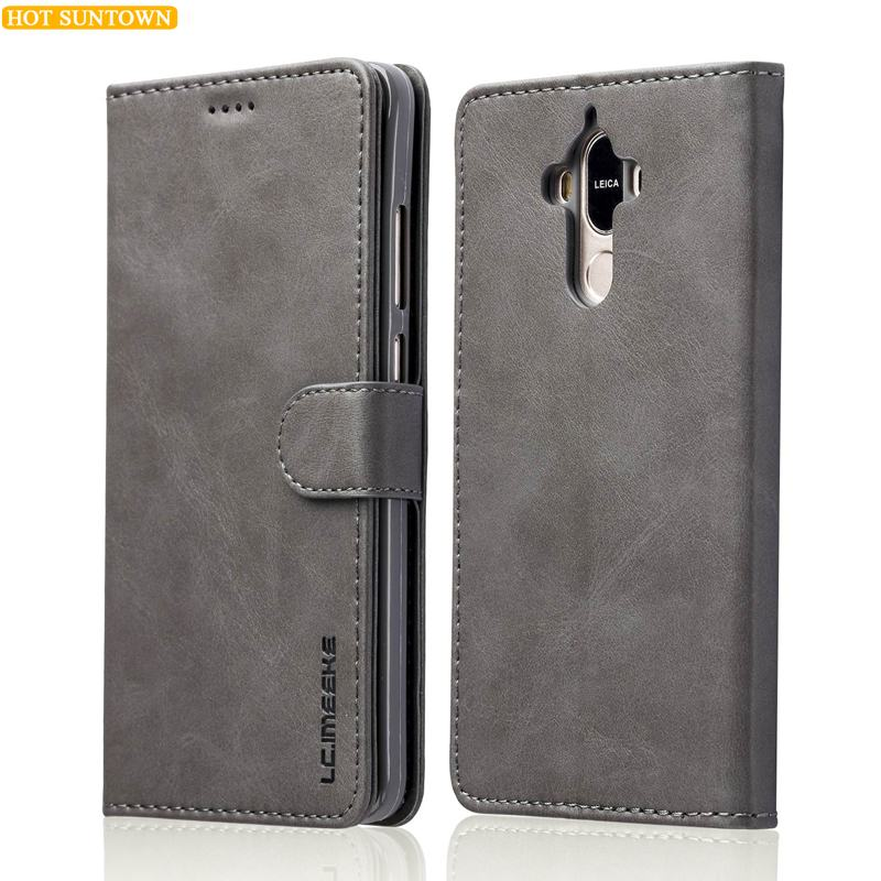 Huawei Mate 9 Case Luxury Leather Wallet Phone Bags Huawei Mate9 Cases Mobile Phone Shell Stand Card Slot Photo Frame Flip Cases