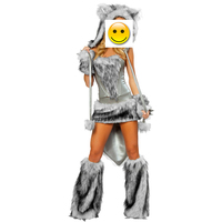 Sexy Wolf Girl Costume Sexy Wolf Costumes Halloween Furry Costumes For Women Animal Costume Cosplay