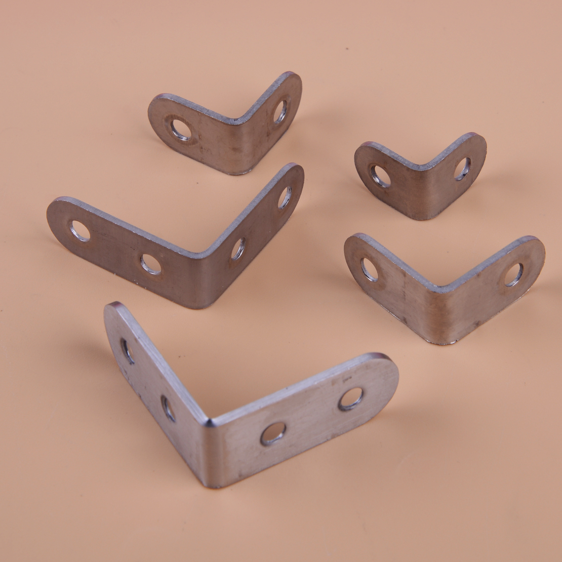 Nails Screws Fasteners Sourcing Map 30pcs Angle Bracket
