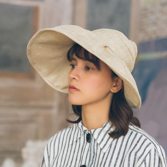 014bd9fb83b dropshipping Sun Hats sun visor hat Sun Hats for women with big heads beach  hat summer UV protection