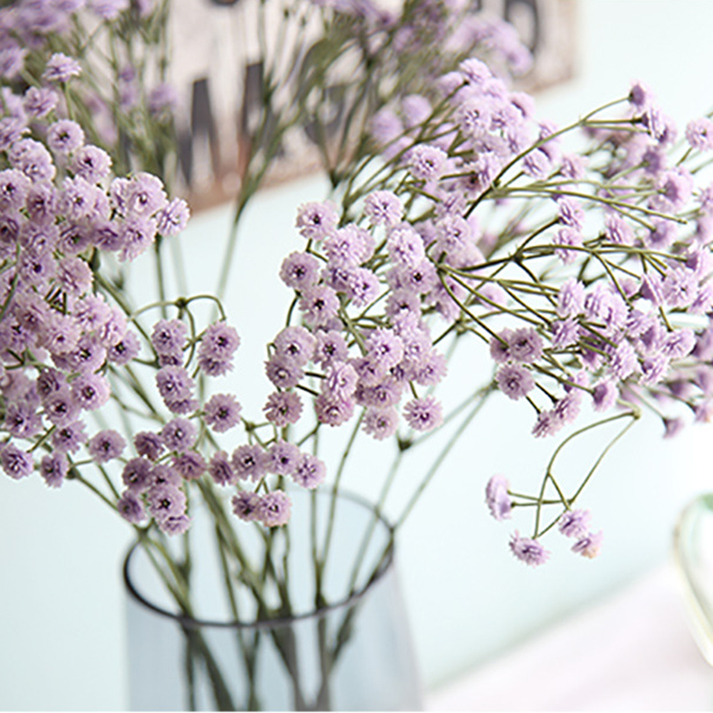 Artificial Decorations Beautiful 7 Forks Sky Star Gypsophila Artificial Flowers Simulation Flower Bouquets Of Bubble Wedding Dress Handicrafts Artificial & Dried Flowers