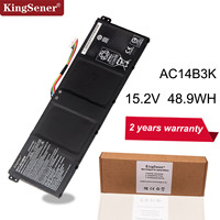 KingSener AC14B3K Laptop Battery For Acer Aspire R5 571T R5 571TG S14 CB3 511 Swift 3 3S F314 51 R 11 R3 131T S14 15.2V 3220mAh