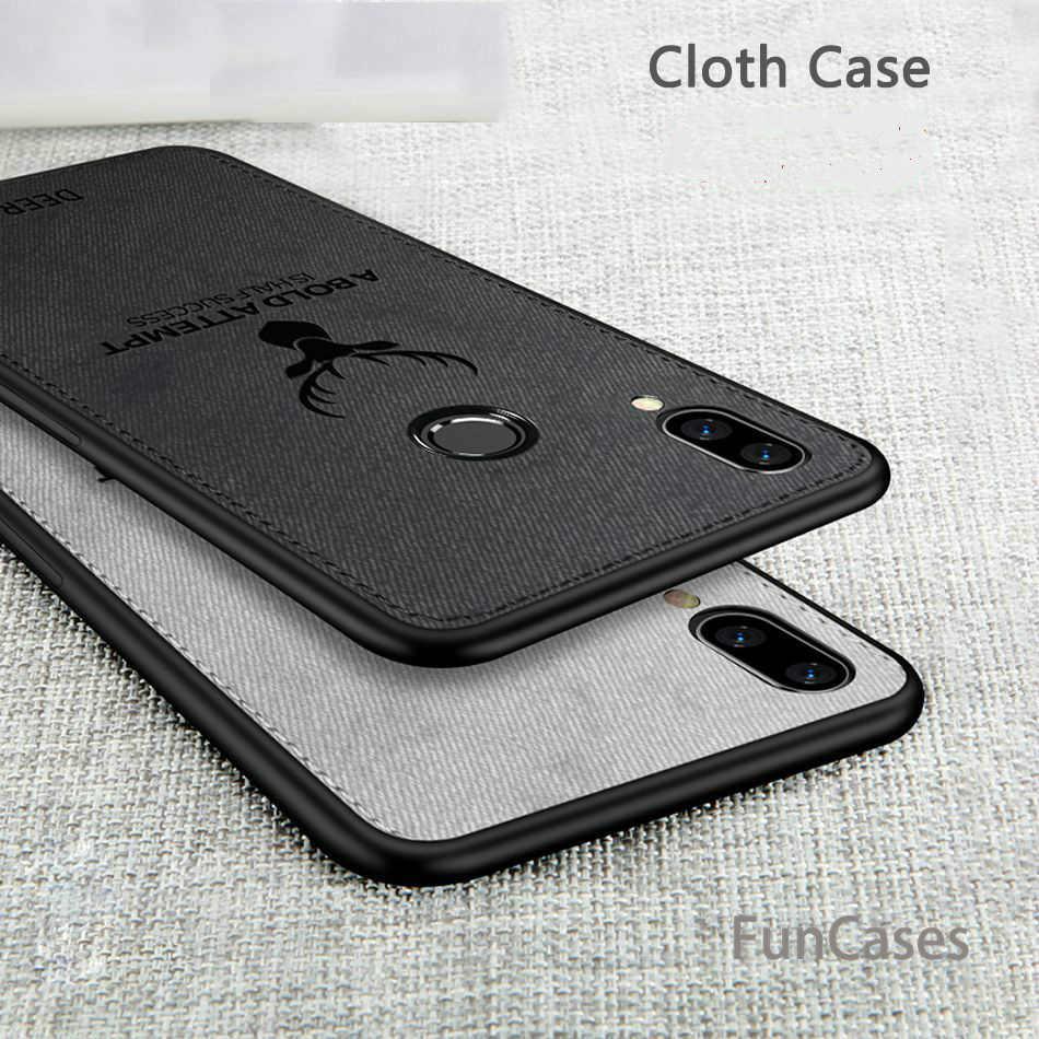 Fribus олень ткань силиконовый чехол для Xiaomi Redmi Note 7 примечание 6 5 pro 6A 5 plus чехол для Xiaomi mi A2 Lite max3 6X 5X mi 8 чехол