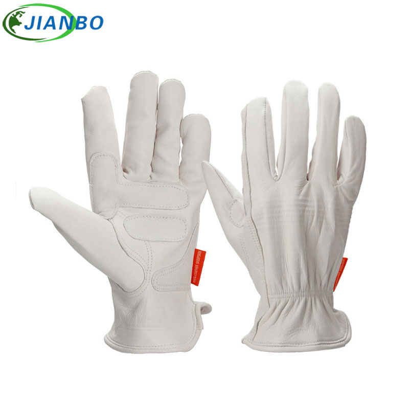 Men's Motorcycle Gloves Cowhide Driver Security Protection Wear Safety Workers Welding Cutting Work Racing Garden Moto Gloves sale new cowhide men s work driver gloves security protection wear safety workers welding hunting gloves for men 0007