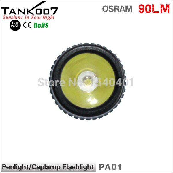 Новые мини пальчиковые OSRAM 3-режим алюминий refletor Lanterna светодиод portátil TANK007 PA01 фонарик для подарка Акция Бесплатная доставка