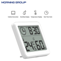 3 2inch Large Screen Multifunction Automatic Electronic Temperature And Humidity Clock