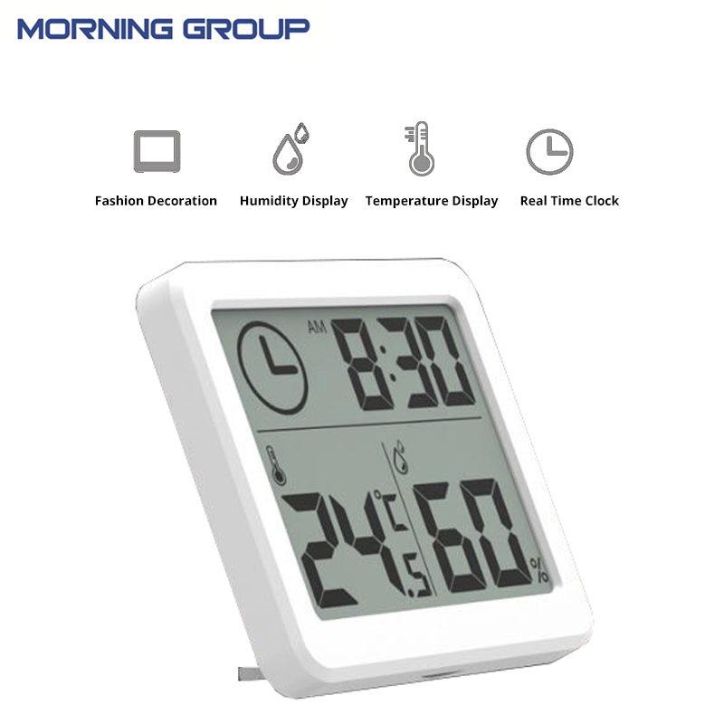 3.2inch large Screen Multifunction Automatic Electronic Temperature and Humidity Clock