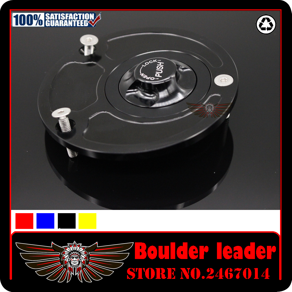 CNC Aluminum Motorcycle Fuel Gas Tank cap Cover With Rapid Locking For Yamaha YZF R6 R1M R25 R125 MT-03 MT-07 MT-09 MT-10 XSR900 high quality motorcycle parts aluminum alloy gas fuel petrol tank cap cover fuel cap for honda cbr 929 954 rc51 all years