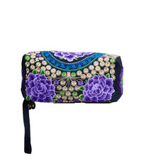 OCARDIAN Wallet Coin Purses Women Marvel Small Mini Ethnic Handmade Embroidered Wristlet Clutch Bag Vintage Purse Dropship F27(China)