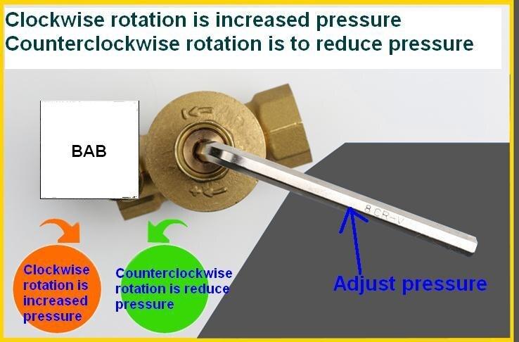 100% Wahr Dn15 Dn20 Dn25 Messing Wasser Druck Reduzierung Aufrechterhaltung Ventile Regler Mayitr Einstellbare Relief Ventile Mit Manometer Meter Ventil Heimwerker