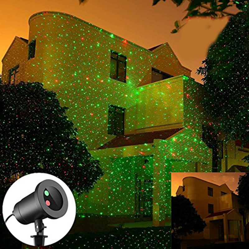 ФОТО Christmas Wireless Remote Control Easy To Use Outdoor for ChristmasGarden Decoration projector light