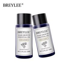 BREYLEE 2PCS Hair Growth Essential Oil Fast Powerful Hair Care Anti-Hair Loss