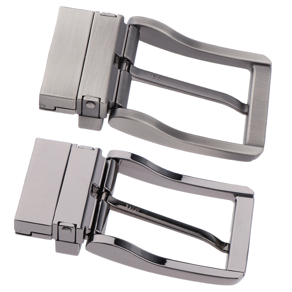 1 Pcs Alloy Belt Buckle 1.3'' 34mm Single Rectangular Prong Reversible Pin Buckle Prong Buckle Replacement