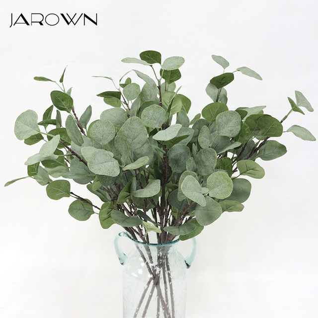 Wedding Altar Flowers With Eucalyptus: Aliexpress.com : Buy JAROWN Artificial Tree Branches