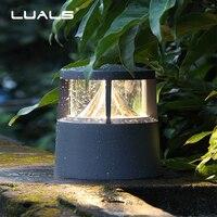 Outdoor Lawn Lamps Garden Fence Lamp Posts Waterproof LED Landscape Light Luxury Garden Meadow Landscape Led Lights Art Lighting