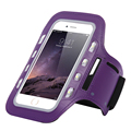 "Universal LED Light Flashing Gym Sport Pouch Waterproof Arm Band Case For moto g4 plus z x play g3 g Cover 4.7"" 5.5"""