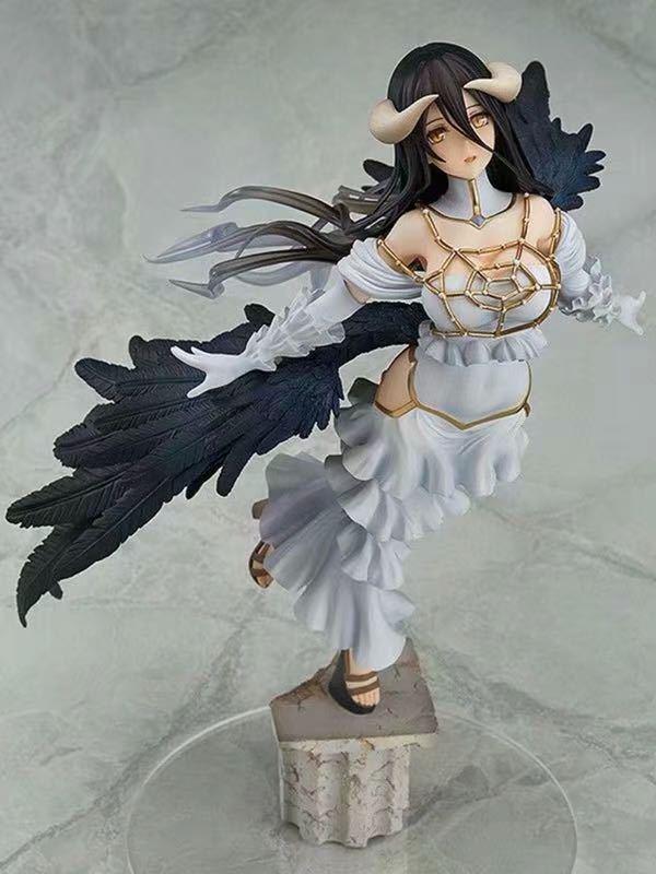 29cm Overlord albedo fille Sexy Anime dessin animé Figure d'action PVC jouets Collection figures pour amis cadeaux